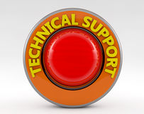 Technical support 3d sign Royalty Free Stock Image