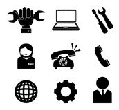 Technical support design Stock Image
