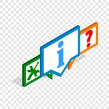 Technical support isometric icon Royalty Free Stock Photo