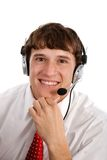 Technical Support Person Stock Images