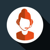Technical support service icon Royalty Free Stock Photography