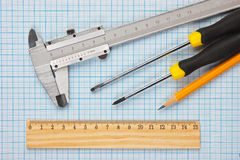 Technical tools Stock Image