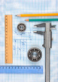 Technical tools Stock Images