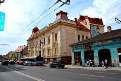 Technical University of Cluj-Napoca, Transylvania Royalty Free Stock Photos
