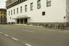 Entrance at Technische University in Munich, Germany. The Technical University of Munich TUM German: Technische Universität München is a research stock photos