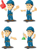 Technician or Repairman Customizable Mascot 13 Royalty Free Stock Photos