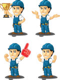 Technician or Repairman Customizable Mascot 14 Stock Photos