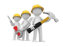 Free Technician With Tool Stock Image - 78617321