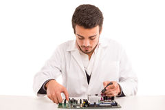 Technician at work Stock Photography