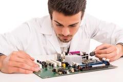 Technician at work Royalty Free Stock Photos