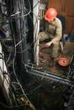 Technician working Stock Photos