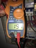 Technicien électrique Images stock