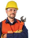 Technicien de câble Photographie stock libre de droits