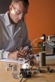 Technicien de laboratoire photographie stock