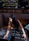 Technicien de Soundboard Photos libres de droits