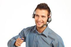 Technicien mâle de support Photos libres de droits