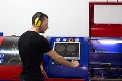 Technicien mécanique image stock