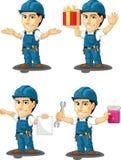 Technicien ou dépanneur Customizable Mascot 11 Image libre de droits