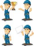 Technicien ou dépanneur Customizable Mascot 5 Images libres de droits