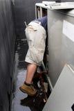 Technicien-réparateur PL in FR has S on both words de la CAHT Photographie stock libre de droits