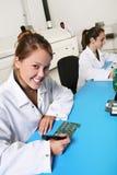 Techniciennes de femmes Photos stock