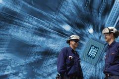 Technicy, komputery i komunikacja, Zdjęcia Royalty Free