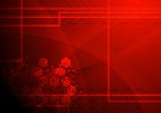 techniczny abstrakcjonistyczny tło ilustracja wektor