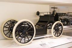 Techniczny muzeum w Wiedeń eksponuje ekspozycj teraźniejszość historia rozwój pojazdy i motocyklu moped bi Zdjęcie Stock