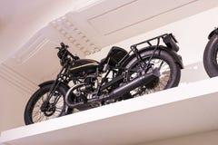 Techniczny muzeum w Wiedeń eksponuje ekspozycj teraźniejszość historia rozwój pojazdy i motocyklu moped bi Obrazy Royalty Free