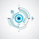 Techniczny plan, abstrakcjonistyczny inżynieria szkic dla use w grafice ilustracja wektor