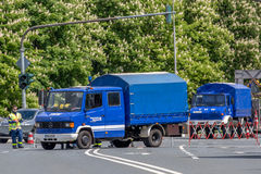 Techniczny Reliefowy Niemcy Obrazy Stock