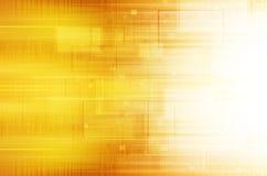 techniczny tła kolor żółty Zdjęcie Stock