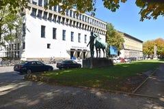 Techniczny uniwersytet Monachium, TUM fotografia royalty free