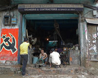 Techniek laag-technologie - (Kolkata - India, Azië) Royalty-vrije Stock Foto