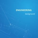 Techniekachtergrond voor projecten Ondergronds pijpleidingsplan Royalty-vrije Stock Foto's