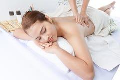 Technieken I van de massage Stock Foto's
