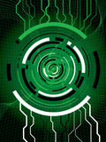 Technigrid green Stock Photo