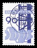 Technik, dänisches Industrien serie, circa 1968 lizenzfreies stockfoto