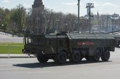 Technik in der Militärparade Lizenzfreie Stockfotografie
