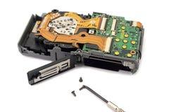 Technik-Reparatur mit Schraube Lizenzfreies Stockfoto
