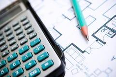 Technik- und Architekturzeichnungen Lizenzfreie Stockbilder