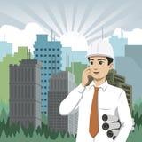 Technik und Bau Lizenzfreie Stockfotos