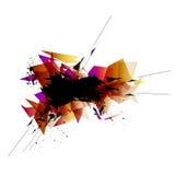 Technika abstrakta tło Zdjęcie Stock
