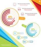 Technika Infographic Zdjęcie Royalty Free