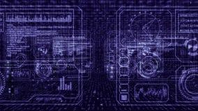 Technika komputeru panel ilustracji