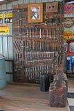 Technika narzędzia utrzymanie przy ścianą Fotografia Royalty Free