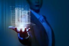 Technikautomatisierungs-Gebäudeentwurf Lizenzfreie Stockfotografie