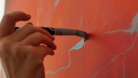 Techniken der Malerei stockbild