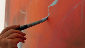 Techniken der Malerei lizenzfreies stockfoto