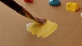 Techniken der Malerei lizenzfreie stockfotografie